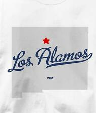 Los Alamos, Los Alamos County, New Mexico NM MAP T Shirt All Sizes & Colors