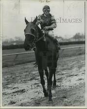 1973 Press Photo Horse Racing- Audley Farm's Grocery List with Oscar Sanchez up.