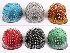 Hedgehog Punk Hip-hop Unisex Hat Rivets Spike Spiky Studded Cap Brand New