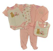 Take Me Home Newborn Girls I Love Hugs 5pc Layette Set Size 0/3M 3/6M $22