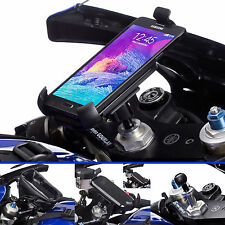 Motorcycle Fork Stem Mount + Universal One Holder for Samsung Galaxy Note 4 5