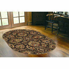 Hand-tufted Tami Traditional Wool Rug (6' x 9' Oval)