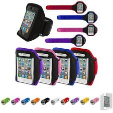 For iPhone 4 4S 3GS Running Sports Gym ArmBand Case+Car Charger+LCD