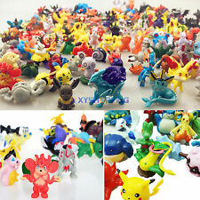 Mix Lots 24-144pcs Anime Pokemon Go Monster Mini Action Figures Kids Toys Gifts