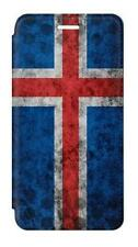 W3000 Iceland Football Soccer Flag Flip Case For IPHONE Samsung