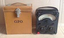 AVO Model 8 Test Meter In GPO Case & PO Receipt - Universal Avometer Multimeter