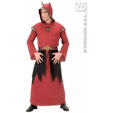 Mens Satan Costume Outfit for Devil Hen Party Halloween Fancy Dress