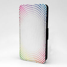 Colored Dots Print Design PatternFlip Case Cover For Apple iPhone - P137