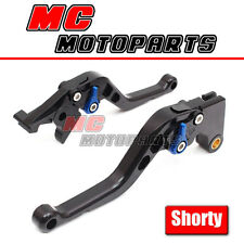 Shorty CNC Black Brake Clutch Lever Kit For Suzuki GSX1400 01 02-07