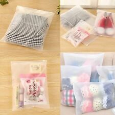 5/10pcs Storage Bag Waterproof Clothes Portable Travel Organizer Clear Pouch J7