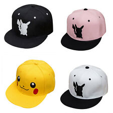 New Pokemon Go Pikachu Fashion Bboy Hip Hop Adjustable Baseball Snapback Hat Cap
