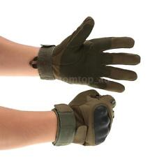 Tactical Gloves Full Finger Shooting Paintball Hunting Riding Hard Knuckle E0Z4