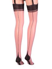 Cervin Esprit Couture seamed Stockings made in France Old fashion