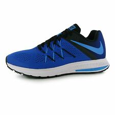 Nike Zoom Winflo 3 Running Shoes Mens Blue/Blue/Black Fitness Trainers Sneakers