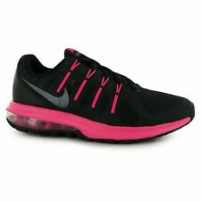 Nike Air Max Dynasty Training Shoes Womens Black/Metal/Pink Trainers Sneakers