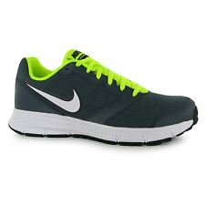 Nike Downshifter 6 Training Shoes Mens Grey/Volt Fitness Trainers Sneakers