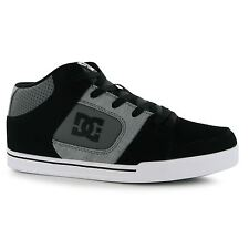 DC Shoes Patrol Skate Shoes Mens Grey/Black Casual Trainers Sneakers