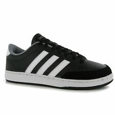 Adidas Court Set Trainers Mens Black/White Casual Sneakers Shoes Footwear
