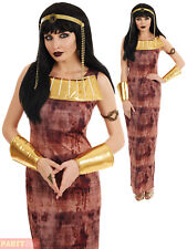 Ladies Cleopatra Costume Adults Sexy Ancient Egyptian Fancy Dress Womens Outfit