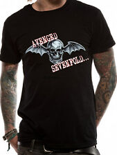 Official Avenged Sevenfold (Bat Skull Glow) T-shirt - All sizes