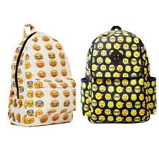 Boys Girls Smiley Fangirl Emoji Backpack Funny Satchel Shoulders Bag Schoolbag