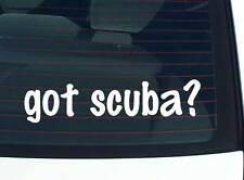 got scuba? SPORTS DIVING FUNNY DECAL STICKER ART WALL CAR CUTE