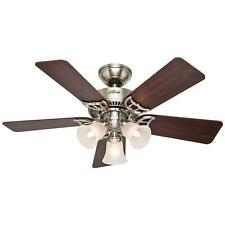 NEW Hunter Southern Breeze 42 in. Brushed Nickel Ceiling Fan (51011)