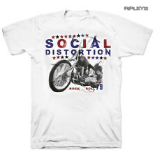 Official T Shirt SOCIAL DISTORTION 79 Vintage ROCK N ROLL Motorbike All Sizes