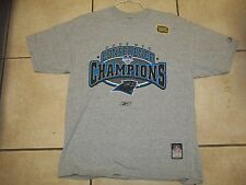 CAROLINA PANTHERS 2003 CONFERENCE T-SHIRT MENS LARGE BY REEBOK