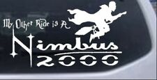 My Other Ride Is a Nimbus 2000 Harry Potter Broom Car Truck Window Decal Sticker