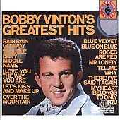 Bobby Vinton's Greatest Hits by Bobby Vinton (CD, Epic) CD & PLASTIC SLEEVE ONLY
