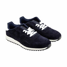 Diesel S-Swifter II Mens Blue Suede Lace Up Sneakers Shoes