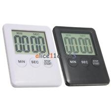Large LCD Display Kitchen Timer Count Down Up Clock Loud Alarm-NO BATTERY
