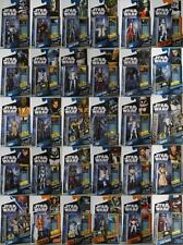 STAR Wars Action figures Hasbro New to collect:CLONE WARS,SAGA LEGENDS,Revenge-B