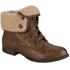 Womens Blowfish Jack Shearling Ankle Boots In Tan From Get The Label