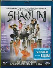 Shaolin Show Blu Ray Kung Fu Buddhist Shaolin Monks Martial Arts NEW Eng Sub