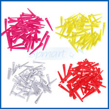 4 CHOICES PACK 50pcs 70mm Wedge Plastic Golf Tees Practice Training Accessories