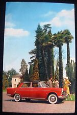 VINTAGE AUTO FIAT 1800 car old postcard NR