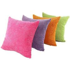 Square Velvet Throw Pillow Cases Cushion Covers Pillowcase Bed Office Home Decor