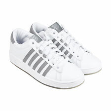 K-Swiss Hoke CMF Ice Mens White Synthetic Lace Up Sneakers Shoes