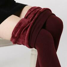 Women's Warm Fleece Lined New Winter Thick Thermal Stretchy Leggings Pants Hot