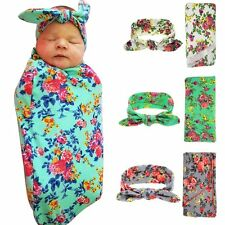 Soft Baby Nursery Cotton Blankets Receiving Blanket Swaddling Bed Sleeping Bag