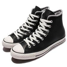 Converse Chuck Taylor All Star Black White Leather Mens Casual Shoes 153820C