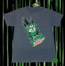 New Mountain Dew Kitty Cat Claws Mens T-Shirt