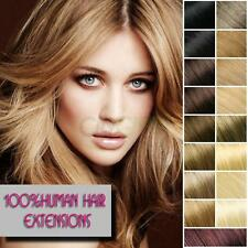 """New 7Pcs/8Pcs Long Straight Clip-in 100% Remy Human Hair Extensions 16""""18""""20""""22"""""""