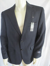 NEW Joseph Joe Abboud Mens Wool Herringbone Navy Sport Blazer Coat Jacket $250