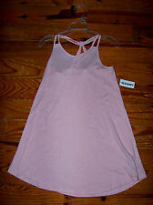 New! Girls OLD NAVY Solid Light Pink Cotton Sundress Casual Dress Size 5T