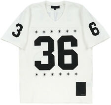 Black Scale BLVCK Men Football Jersey Shirt White S-XL BLVCK SCVLE Fashion Sport