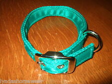 Buckle and Eyelet Dog Collar, 25mm wide Polypropylene Cushion Web, Made to Order