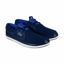 Lacoste L.Andsailing 316 3 Spm Navy Mens Casual Dress Boat Shoes Shoes